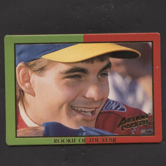 1994 ACTION PACKED JEFF GORDON ROOKIE OF YEAR
